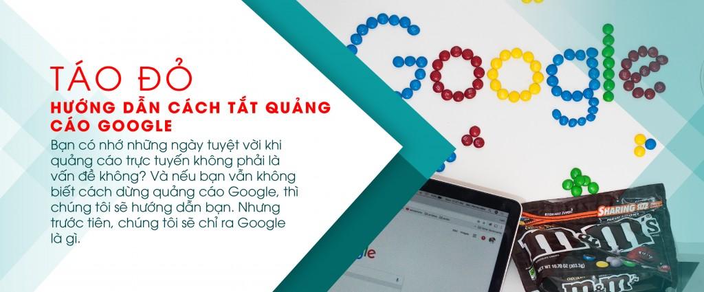cách tắt quảng cáo google