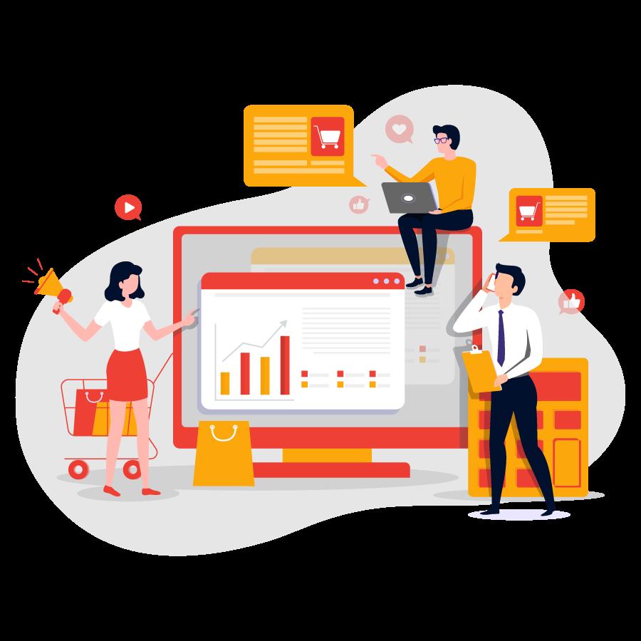 Dịch vụ marketing online tổng thể